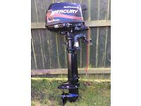 Mercury SailPower 4hp Long shaft Outboard Engine