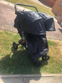 City mini gt double with carrycot