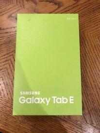 Brand new New Samsung Galaxy Tab E 9'6 Inch tablet