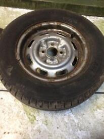Morris marina/Ital wheel tyres 5
