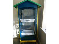 Tall Ferplast cage for bird / rat / chinchilla / degu