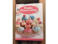 Cake baking magazines & utensils