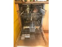 Integrated dishwasher kenwood less than a year old