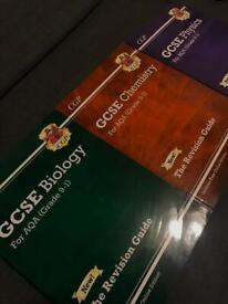 3x CGP GCSE revision guides