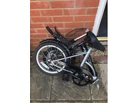 Apollo Folding Cycle - Great for yachts, motor homes, camping, fits in any car boot!