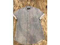 Men's denim shirt from Topman size M