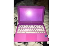 HP NOTEBOOK LAPTOP PINK FULL WORKING CONDITION