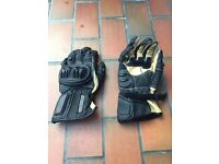 Men's Spada, Vortex Leather Motorcycle Gloves.