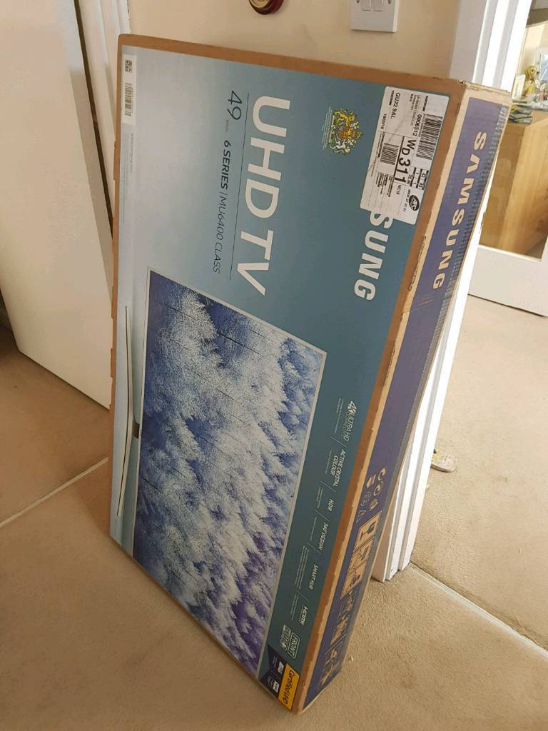 "Samsung smart 49"" tv brand new in box"
