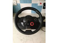 Logitech Driving Force GT Steering Wheel and Pedals (PS3) - Excellent condition