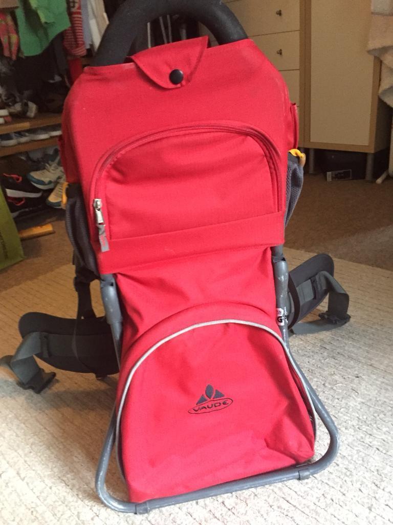 Baby carrier rucksack