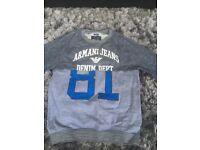 Used Men's Armani Jeans jumper/cardigan