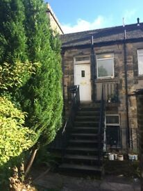 2 bedroom property to let in Commercial Street, Kirkcaldy - main door with private garden