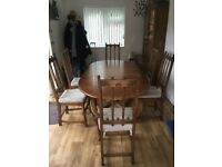Beautiful Ercol Table and Chairs