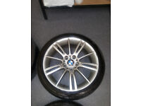 "BMW 3series MSport alloy wheel 18"""