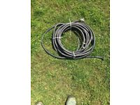 Two core 6 mm armoured cable