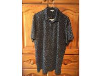 Men's Polo Shirt Regular Fit Large by Next