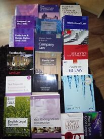 19x Law (Llb Hons) Books For Sale