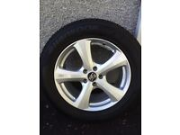 """4x MSW by OZ 18"""" Alloy Wheels with Hankook Winter Snow Evo i-Cept Tyres Low miles"""