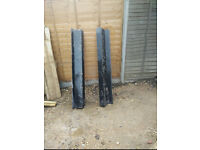 Two used catnic lintels measuring 1500mm 59 inches