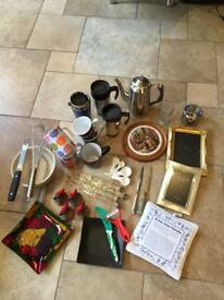 Box Of Bits & Bobs (Mostly Kitchen Gadgets & Accessories) Over 34 Pieces - See Listing & All Photos