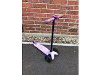 MINI MICRO SCOOTER WITH BELL .. IN LILAC