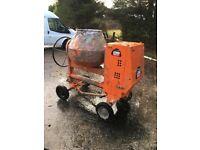 Belle XT100 diesel site mixer