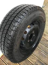 225 65r 16c tyre & wheel