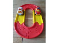 For sale used minirace track with car
