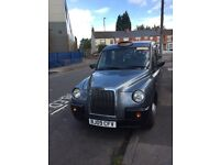Lti tx4 taxi with Coventry plate and without