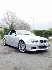 Bmw 3 series e46 convertivle auto m sport (Cheap & Cheerful) *BARGAIN*