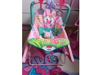 Baby to toddler rocker chair/ bouncer