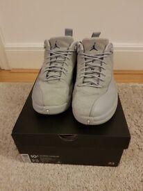 Air Jordan 12 Retro Low Men's Shoes wolf grey size UK 9.5