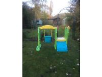 Little Tikes climbing Frame with slide and swing