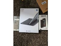 Logitech Ultrathin ipad Air 2 keyboard, iphone 6s replacement screen and battery case