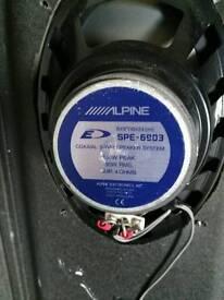 Alpine type E 6x9 speakers