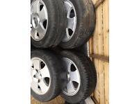 Ford Fiesta alloy n tyres