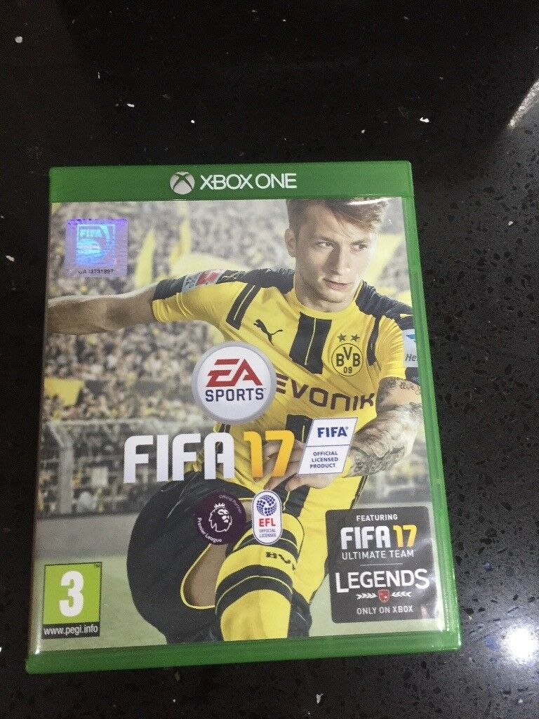 xbox one fifa 17 game
