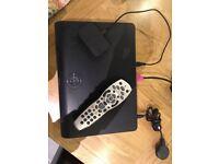 Sky+HD Box with mini wireless connector