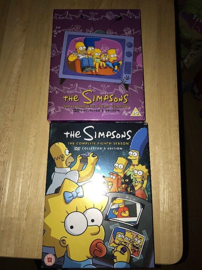 2 Simpsons DVD Boxsets