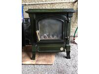 Gas stove fire