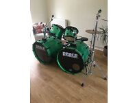Peace DNA professional drum kit - Double Bass Drum