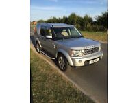 Land Rover Discovery 4 3.0 V6 GS Metallic Silver Very Good Condition Full Service History