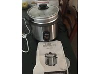 for sale fine elements 1.8l rice cooker comes with steamer basket and spoon and measuring cup