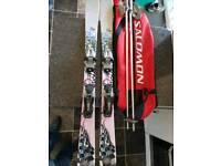 Kids K2 Ski's 115cm long poles and bag too