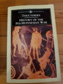 Thucydides- History of the Peloponnesian War Book
