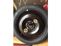 "SPACE SAVER 15"" Mini One Cooper Clubman 2001-2014 Space Saver Spare Wheel & 115/70R15 unused"