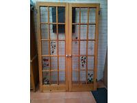 15 PANE GLASS DOORS
