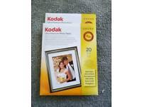 Photo paper (2 medium packs)