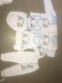 8 piece baby set 0-3 months